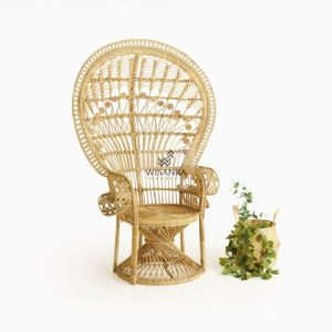 Peacock Rattan Arm Chair