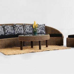 Lunar Wicker Corner Set