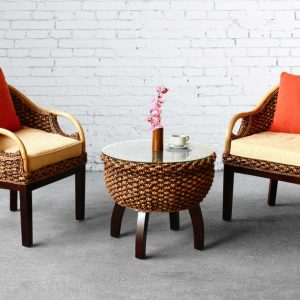 Calmar Wicker Terrace Set