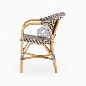 Dean Rattan Bistro Chair 1