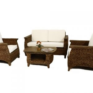 Neira Wicker Living Set