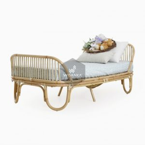 Farel Rattan Toodler Bed