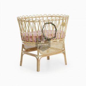 Chiko Rattan Baby Crib
