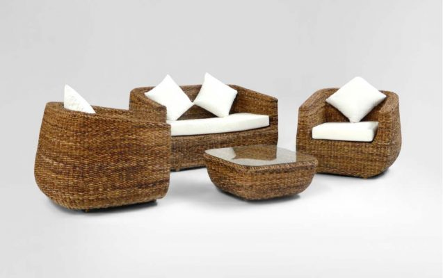 Living Rattan Chair