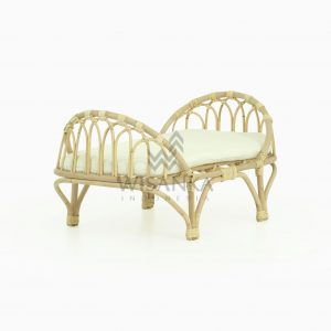 Mona Rattan Doll Bed