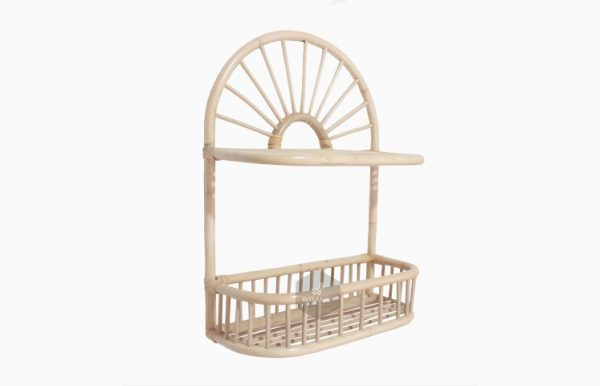 Mentari Rattan Mini Shelves