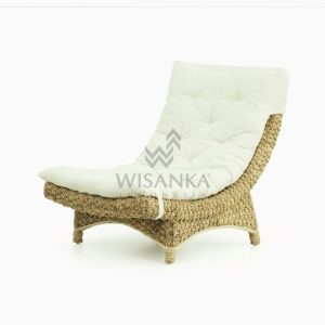 Moon Wicker Rattan Lazy Chair
