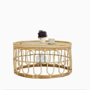Sofie Rattan Coffee Table