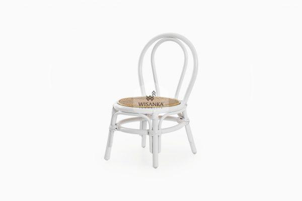 Kala Kids Rattan Chair White