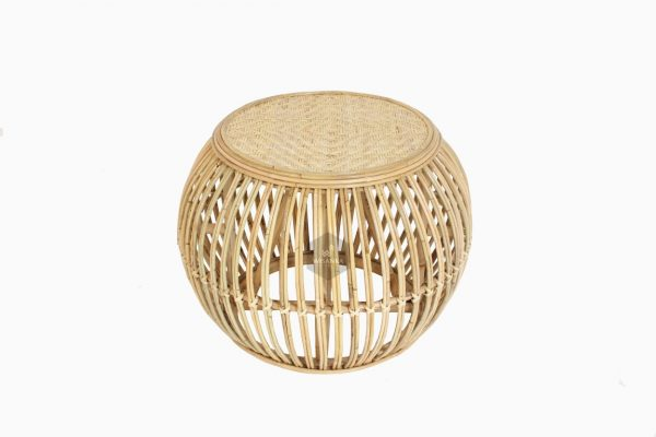 Theo Round Rattan Table