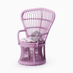 Makhuta Kids Peacock Rattan Chair